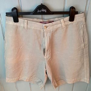 Berle Vintage Cotton/Linen Shorts